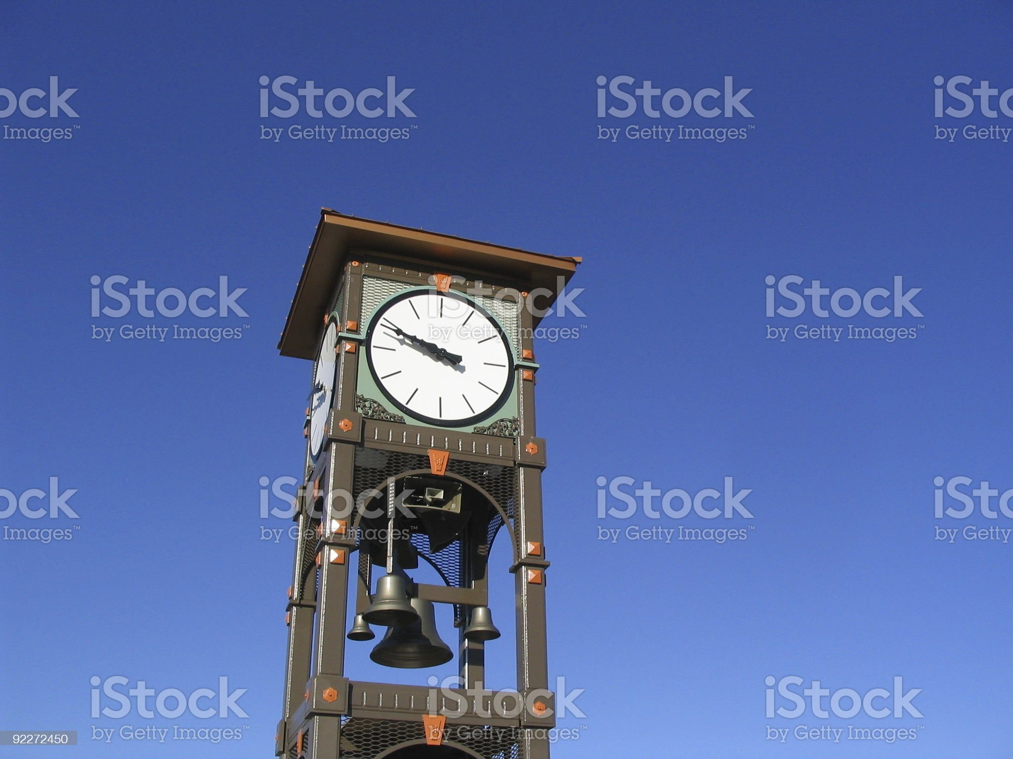 Fargo Clock Tower royalty-free stock photo