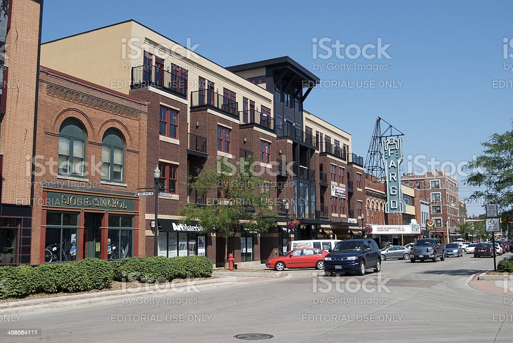 Fargo royalty-free stock photo