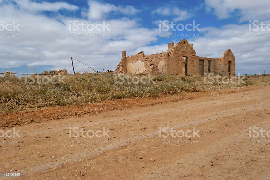 Farina town, South Australia stock photo