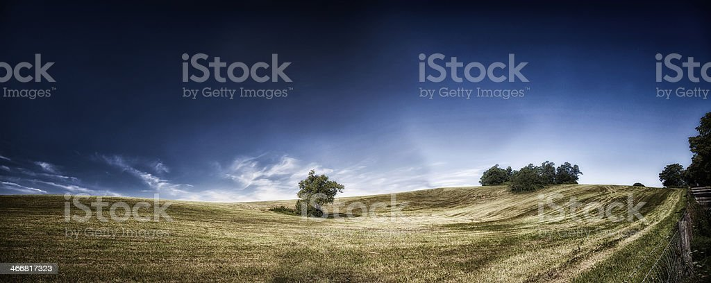 Farm and Meadow royalty-free stock photo