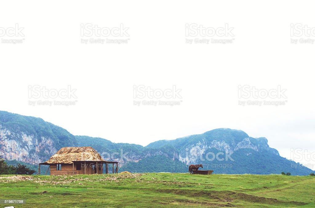farm away stock photo