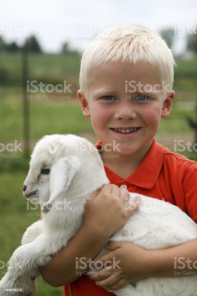 Farm Boy stock photo