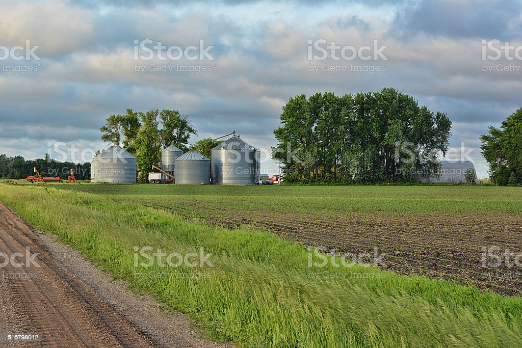 Farm Buildings stock photo