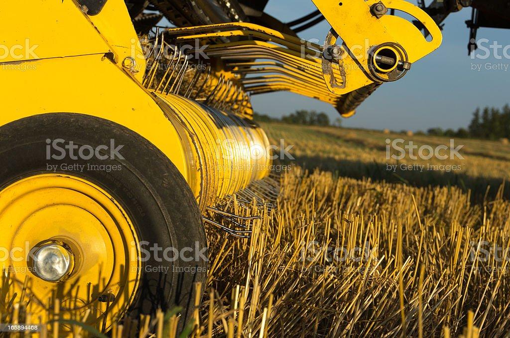 Farm Equipment Closeup stock photo