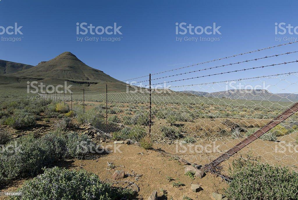 farm fence stock photo