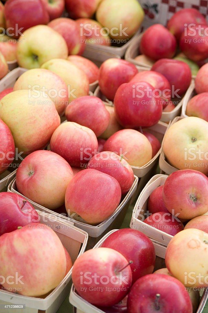 Farm Fresh Apples stock photo