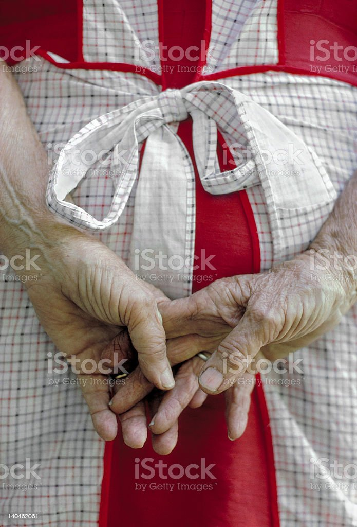 Farm Hands stock photo