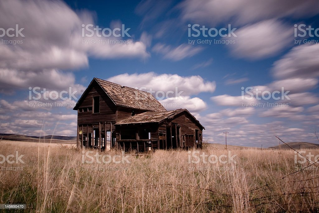 Farm House stock photo