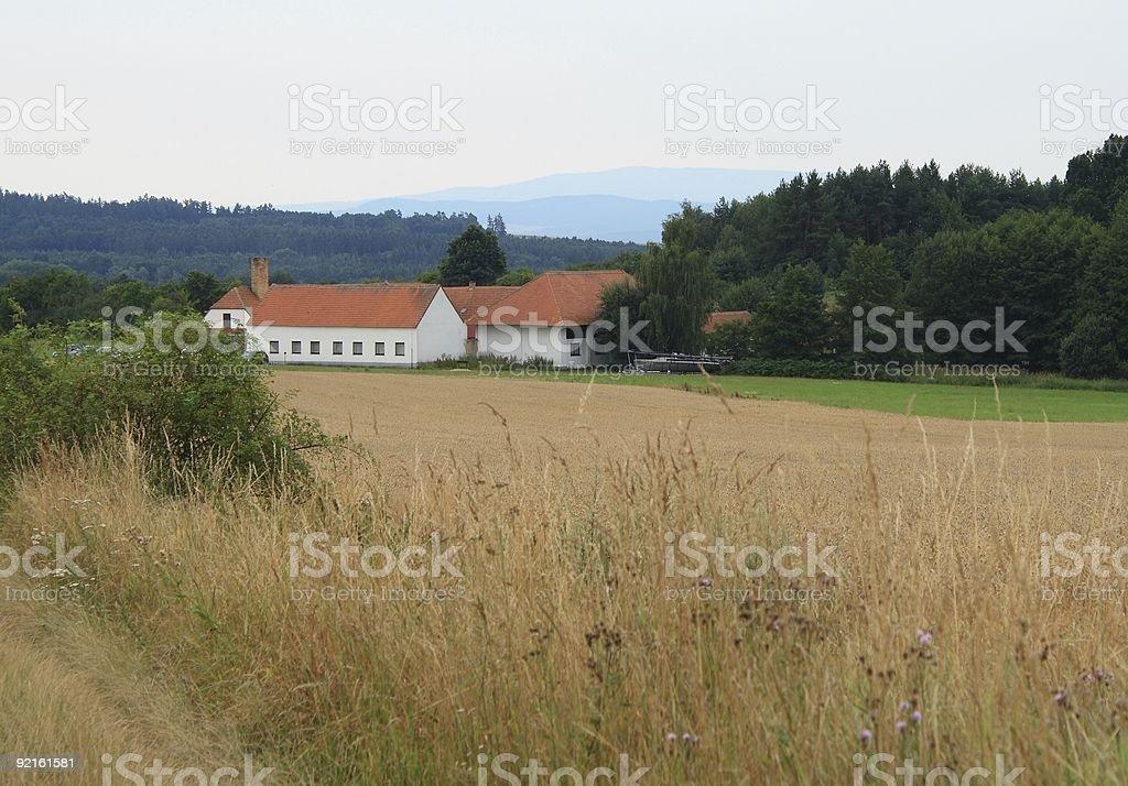 Farm - house royalty-free stock photo