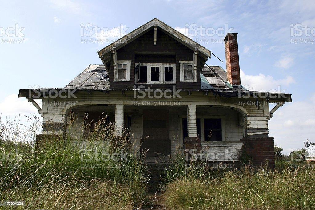 Farm house ruin royalty-free stock photo