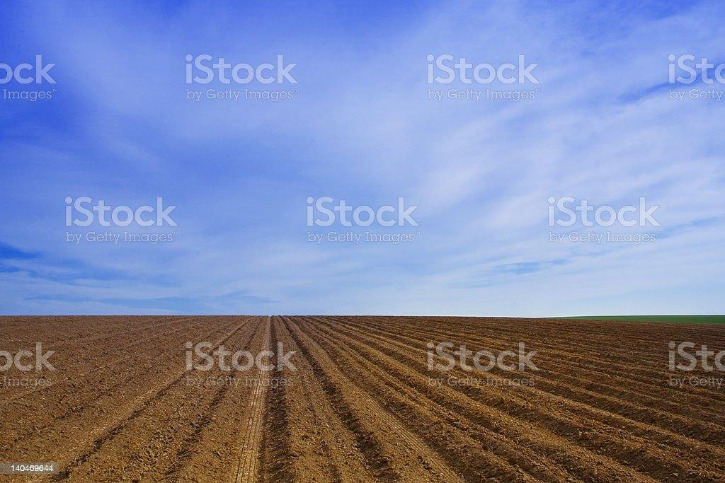 Farm in Idaho royalty-free stock photo