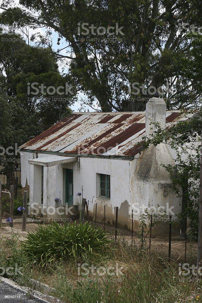 Farm Labourer's Cottage stock photo