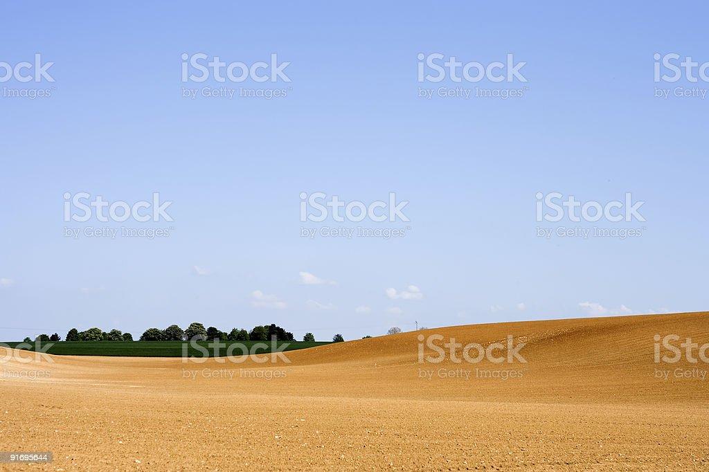 Farm Land royalty-free stock photo