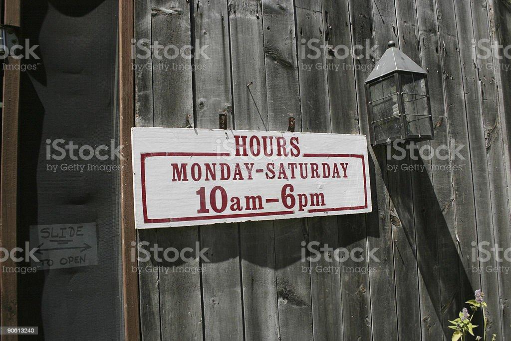 Farm Market Sign royalty-free stock photo
