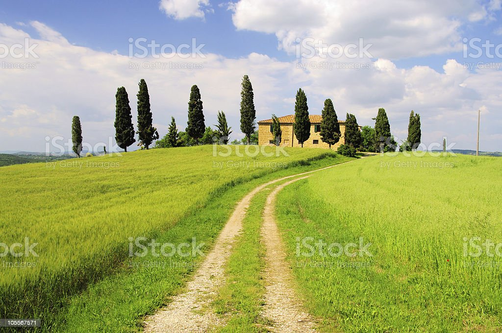 Podere royalty-free stock photo