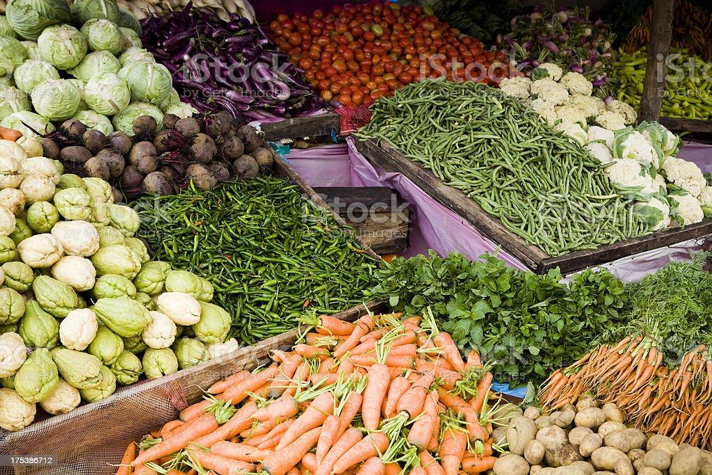 farm produce market sri lanka royalty-free stock photo