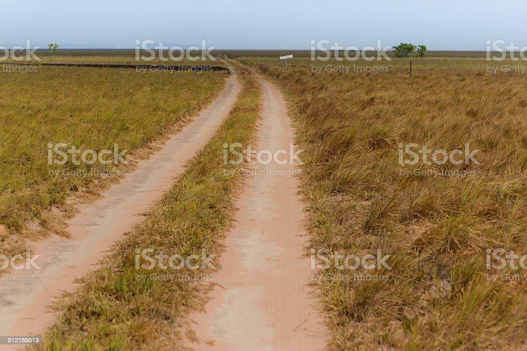 Farm Road stock photo