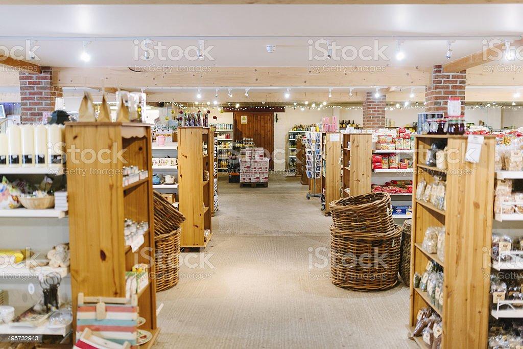 Farm Shop stock photo