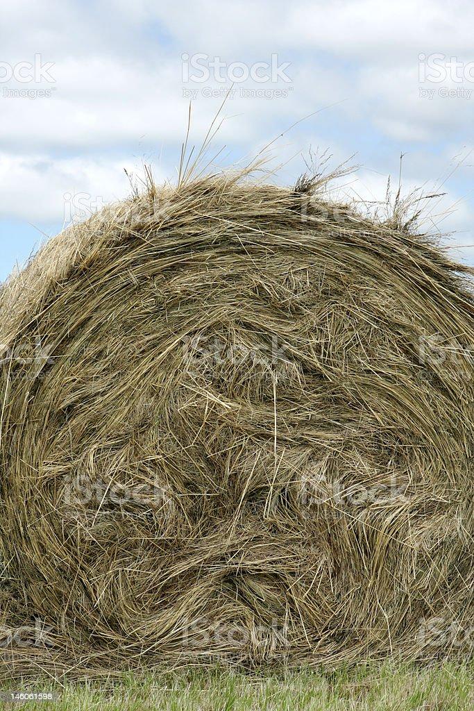 Farm Straw stock photo