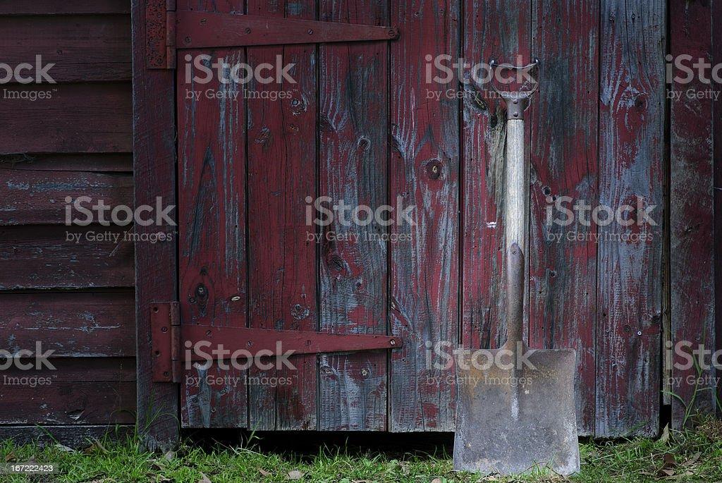 Farm tools royalty-free stock photo