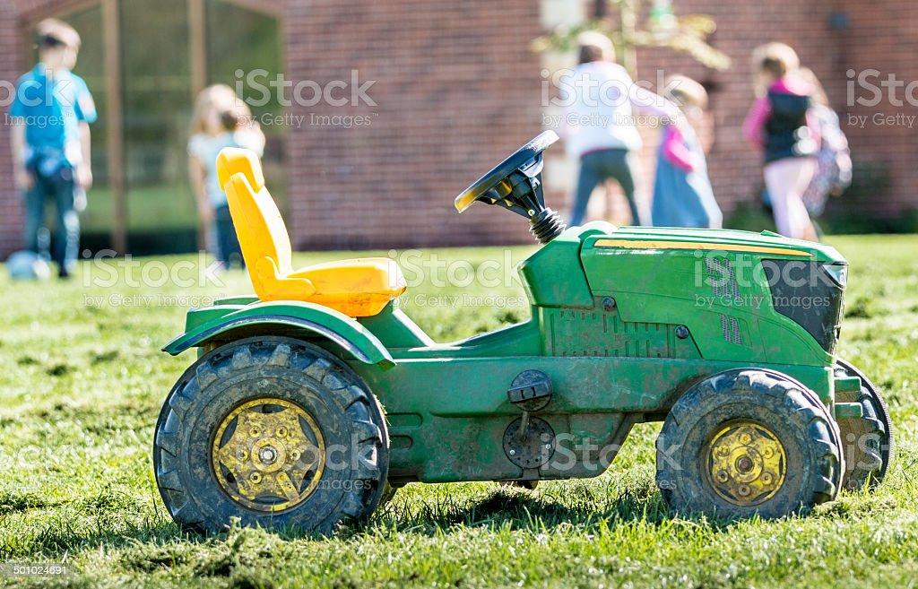 Farm Toy stock photo