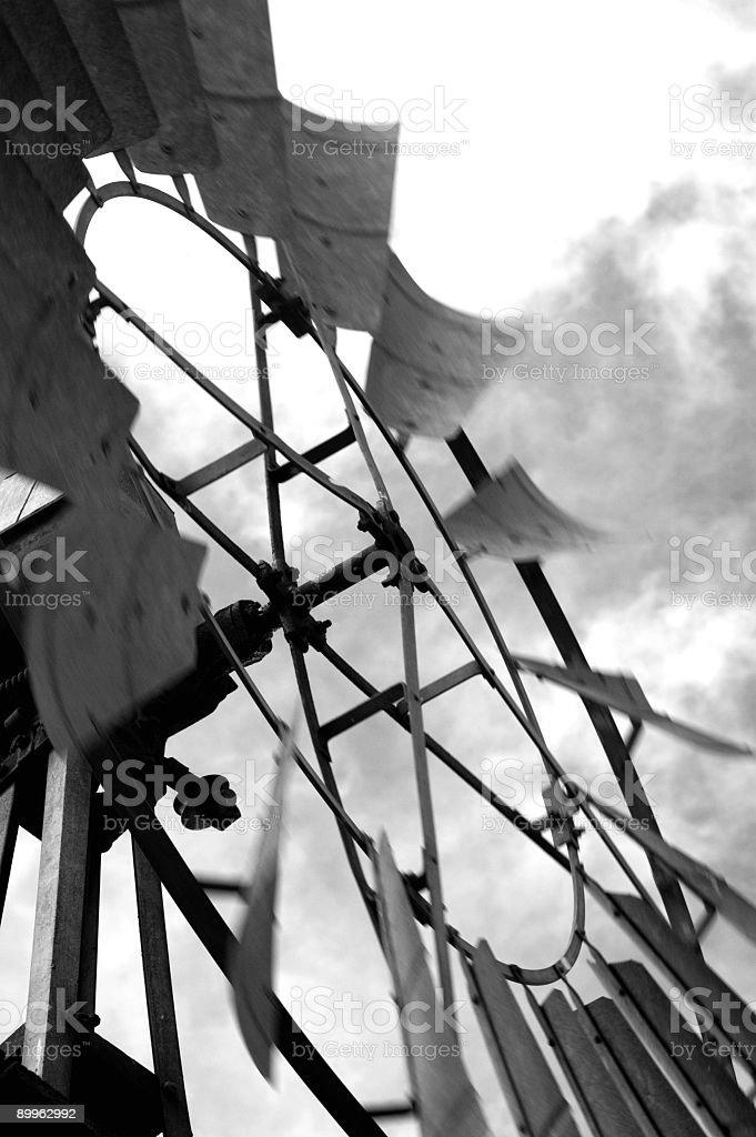 Farm Windmill royalty-free stock photo