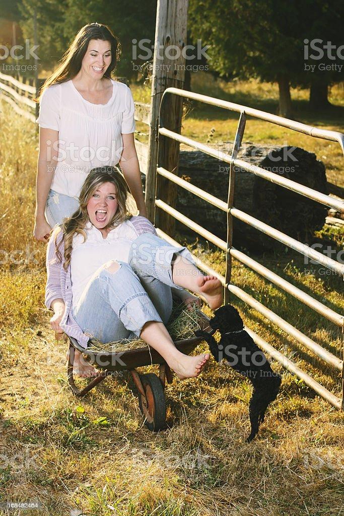 Farm Women royalty-free stock photo