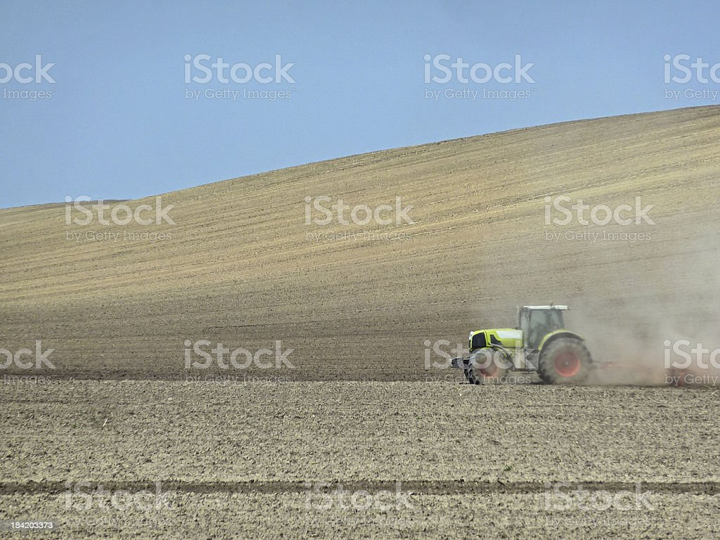 Farm Work royalty-free stock photo
