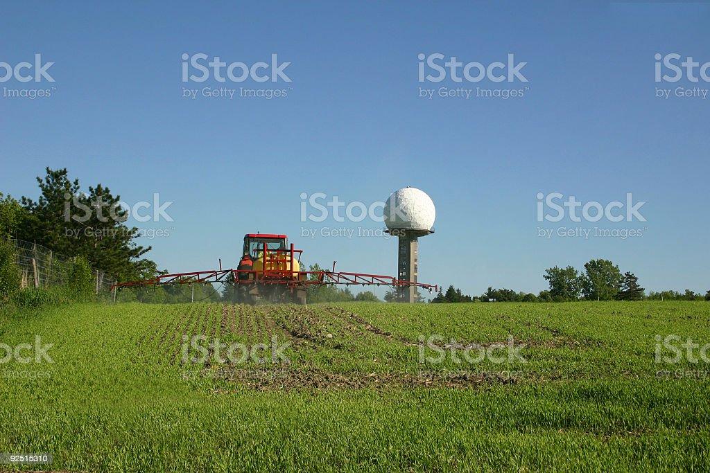 Farmer at Work royalty-free stock photo
