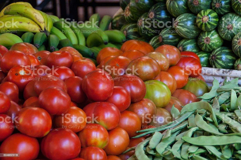 farmer market stock photo