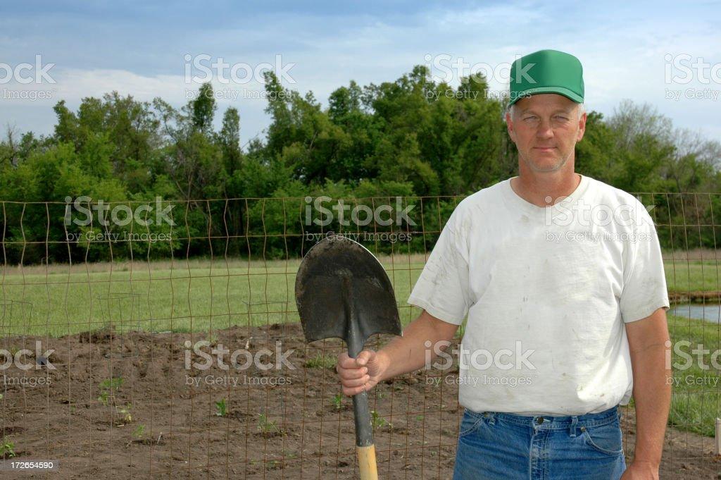 Farmer Series royalty-free stock photo