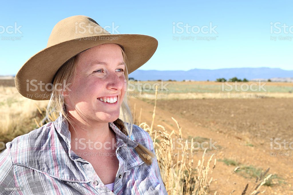 Farmer Woman stock photo
