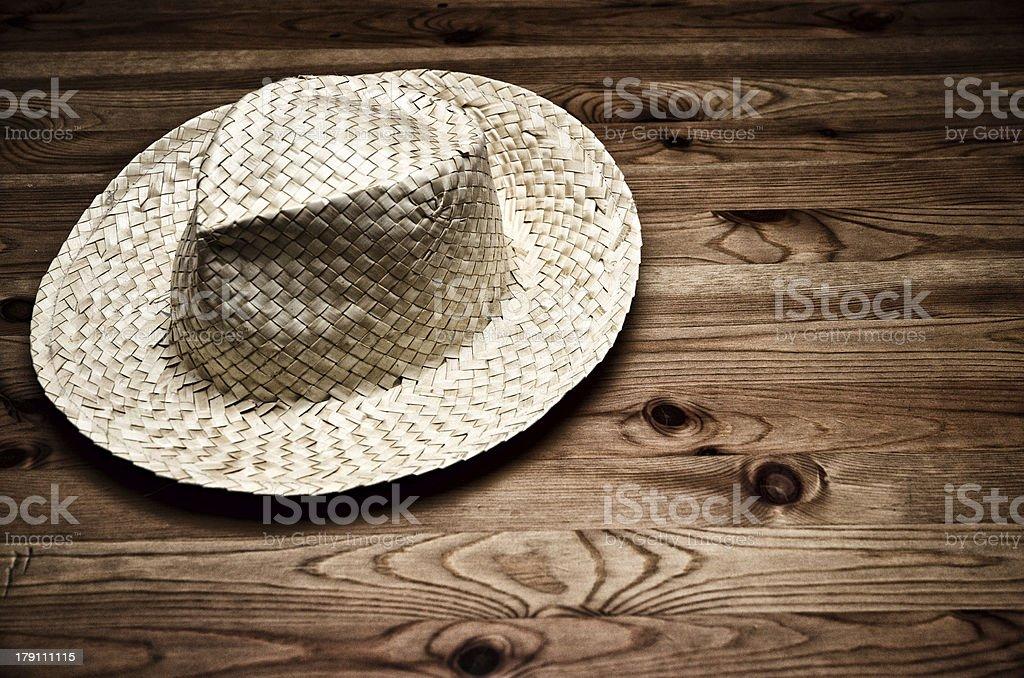 Farmer's hat royalty-free stock photo