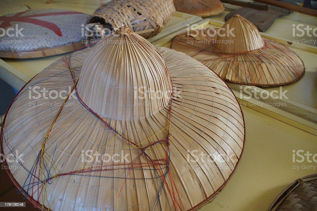 Farmer's  hats royalty-free stock photo