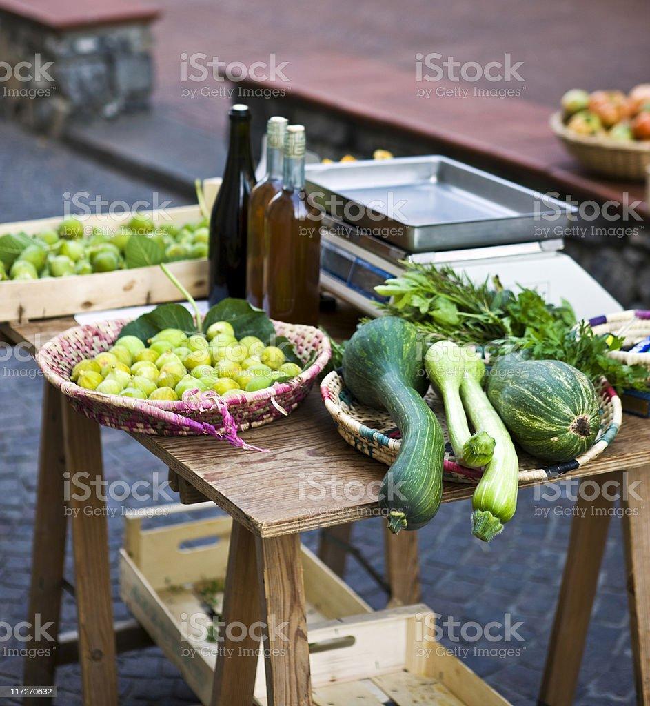Farmer's Market. Color Image royalty-free stock photo