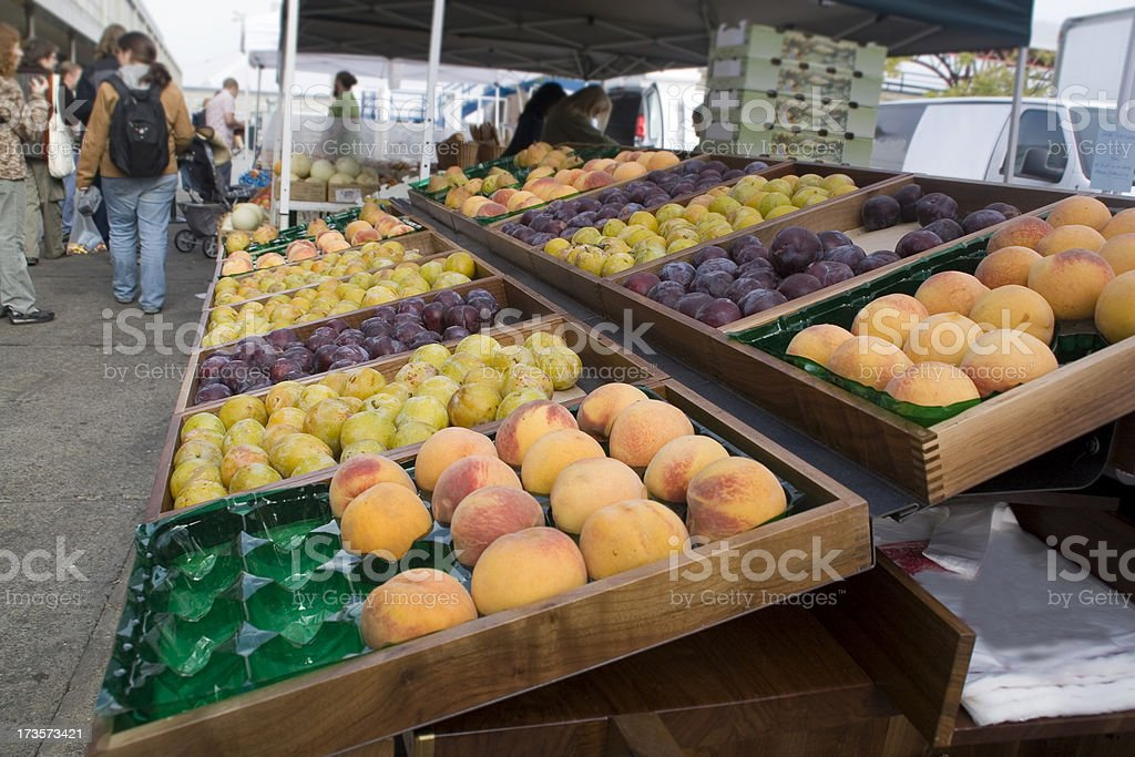 Farmers Market: Fruit royalty-free stock photo