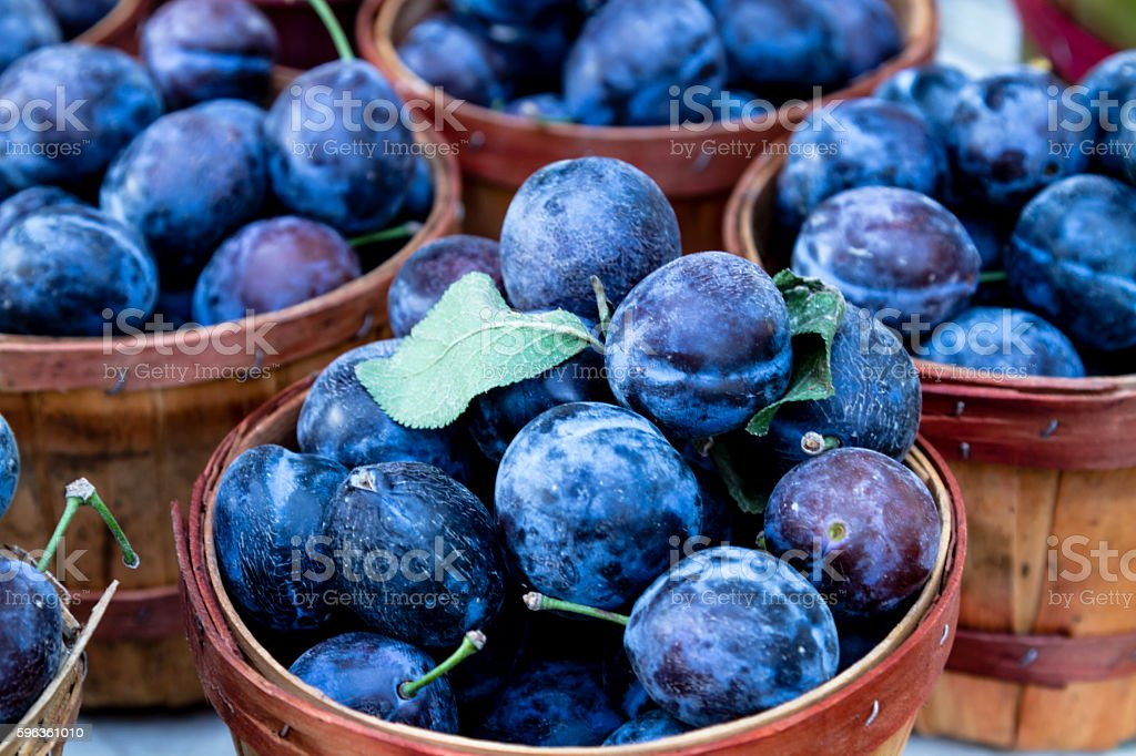 Farmers Market Fruits and Vegetables stock photo