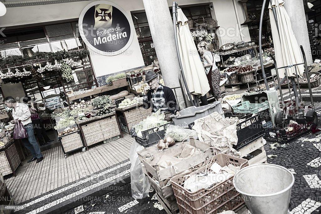 Mercado dos Lavradores , Funchal, Madeira. royalty-free stock photo