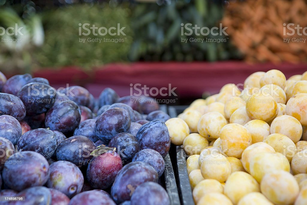 Farmers Market in Brooklyn, New York City royalty-free stock photo