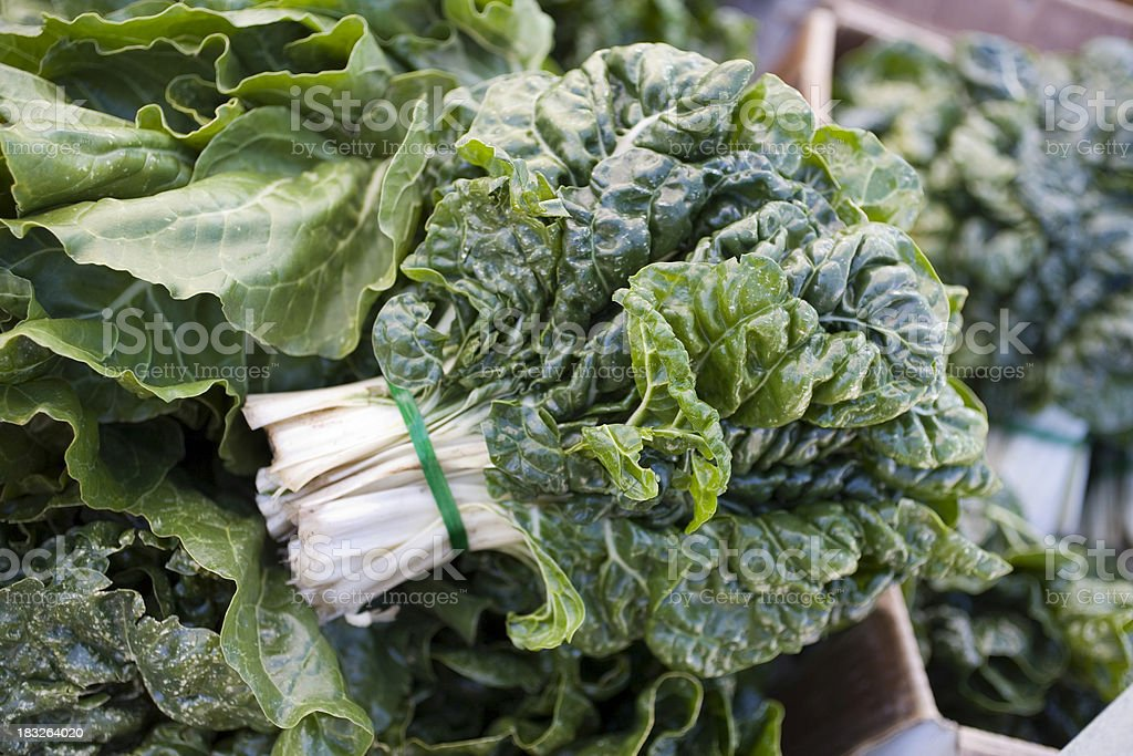 Farmers Market: Kale royalty-free stock photo