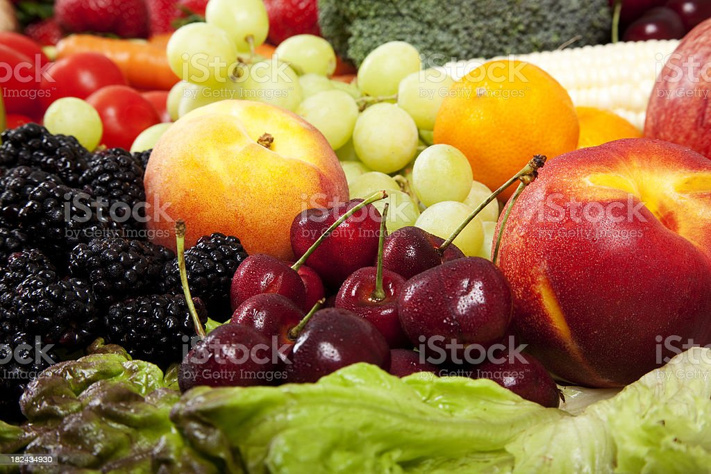 Farmer's Market - Organic Vegetables royalty-free stock photo