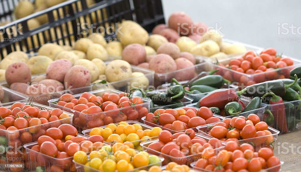 Farmers Market royalty-free stock photo