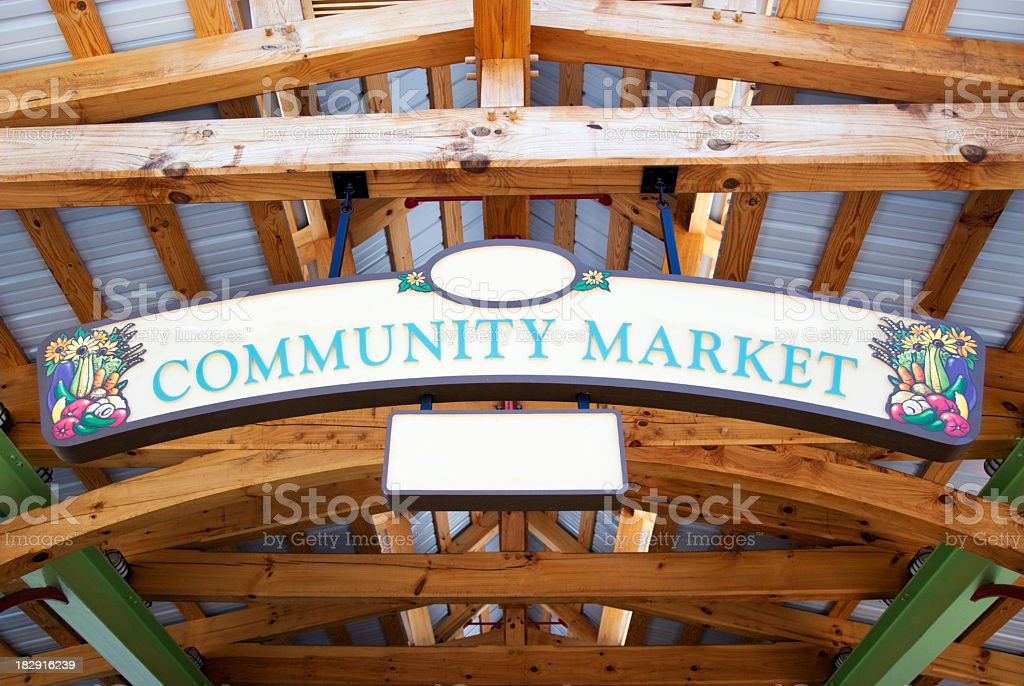 Farmer's Market stock photo