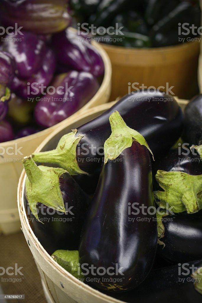 Farmer's market produce stock photo