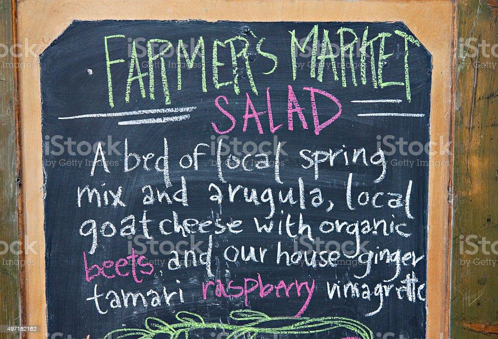Farmer's Market Salad stock photo