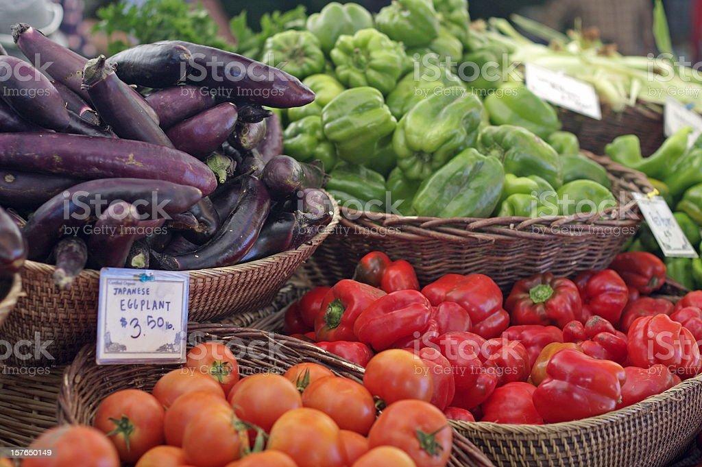 Farmer's Market Vegetable stock photo