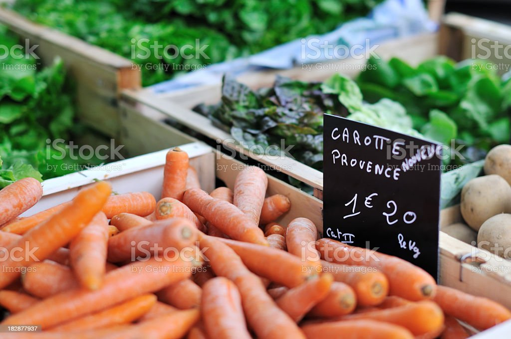 Farmer's Market - vegetables royalty-free stock photo