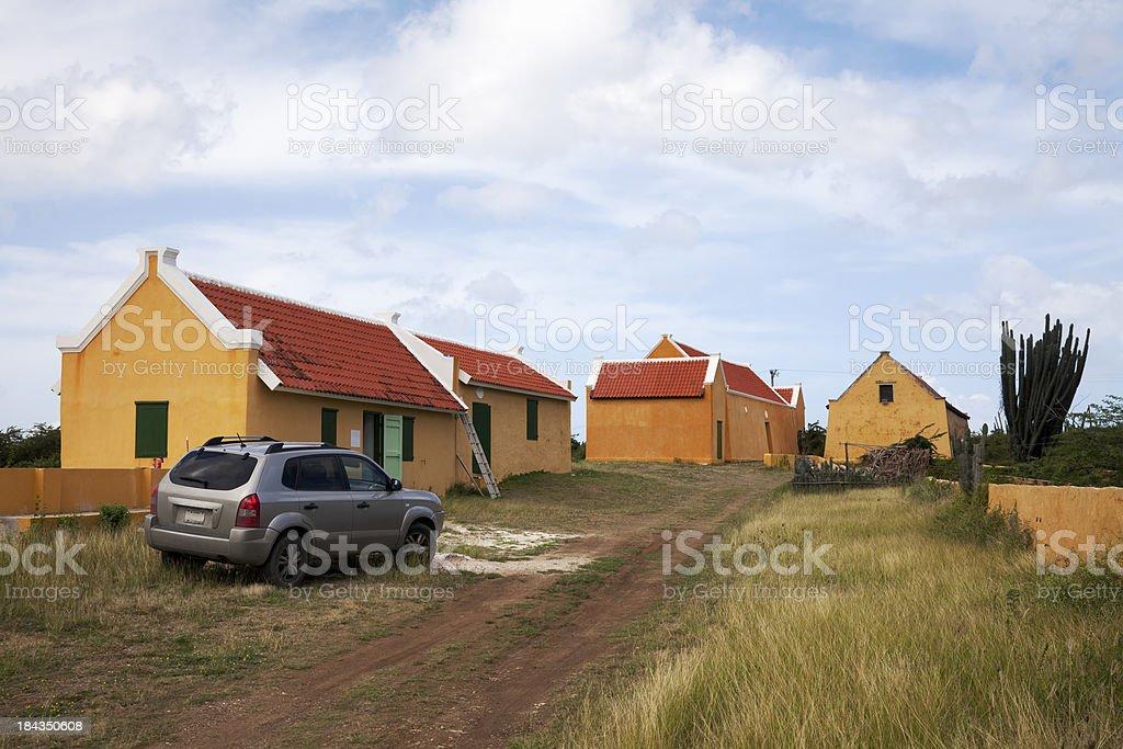 'Farmhouse, Curacao' stock photo