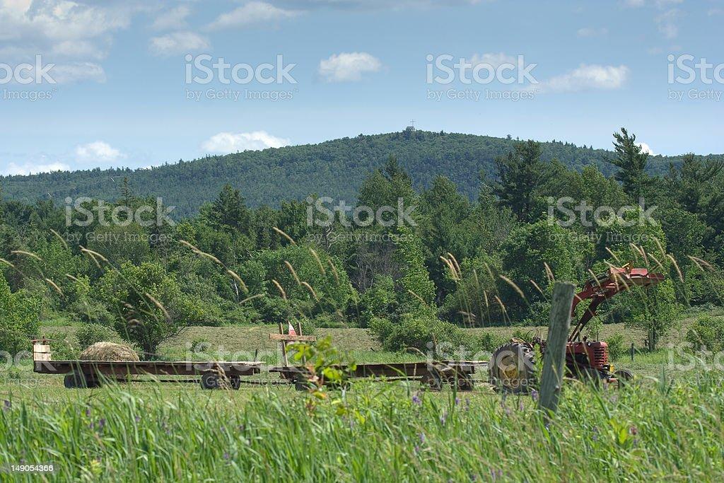 farming break stock photo