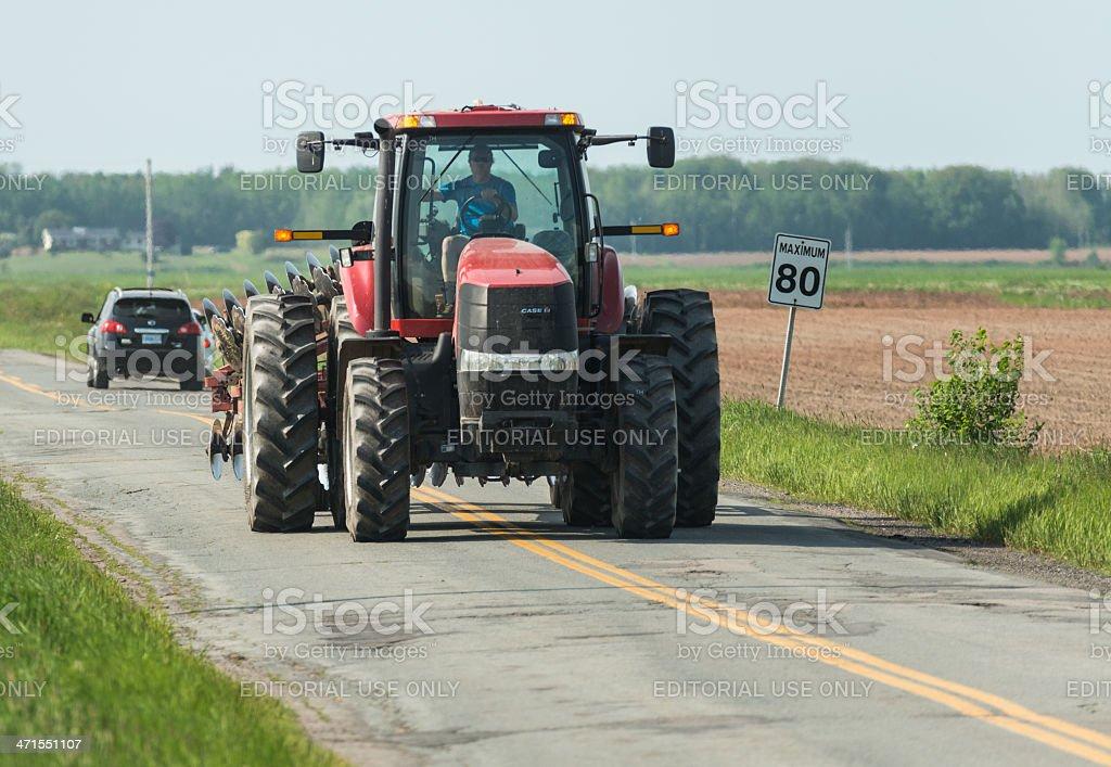 Farming in Grand Pre stock photo